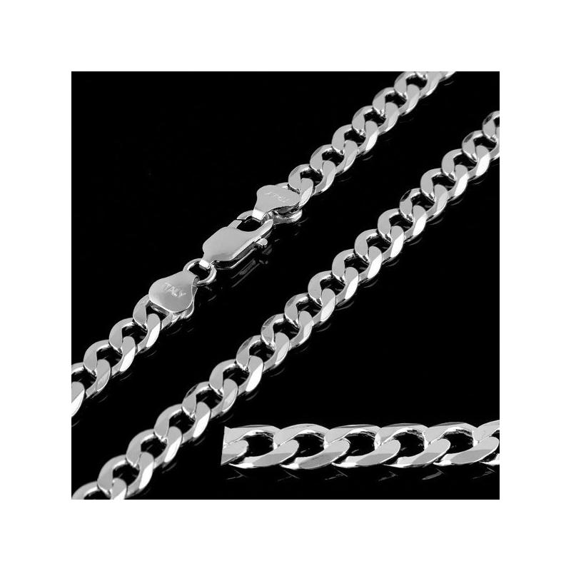 """Curb"" Chain for Men Length 55cm"