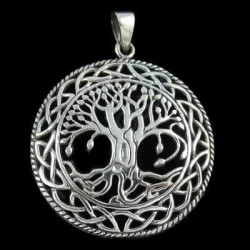 """Openwork Tree of Life"" Pendant"