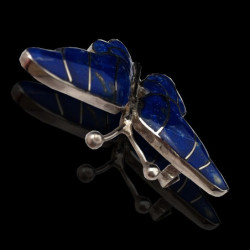 """Brooch """"Lapis lazuli Butterfly"""""""
