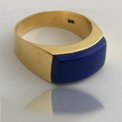 "Ring ""Blue Sky"" 18K Gold"