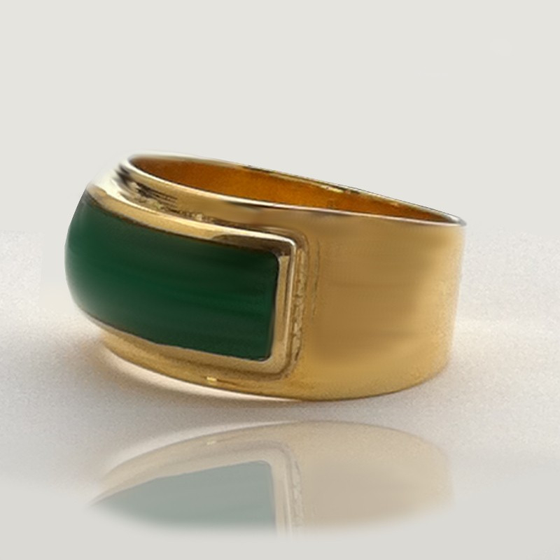 "Ring ""Lizard"" 18K Gold"