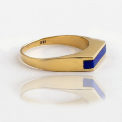 "Ring ""Gust of Wind"" 18K Gold"