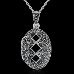 "Locket Pendant ""Trinity..."