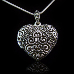 "Locket Pendant Heart ""Grand..."