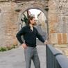 """Bizantina Antica"" Borobudur Uomo 5 mm"
