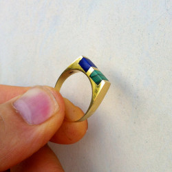 "Ring ""Double Luck"" 18K Gold"