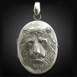 "Locket Pendant ""Tiger"""