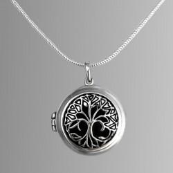 """Locket pendant """"Tree of life"""""""