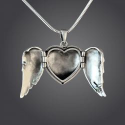 """""""Archangel Wings"""" Locket"""