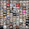 Réglage, impression et installation des photos dans le pendentif médaillon
