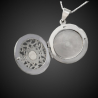 """""""Queen Elsa"""" locket pendant in sterling silver 925 for photos"""